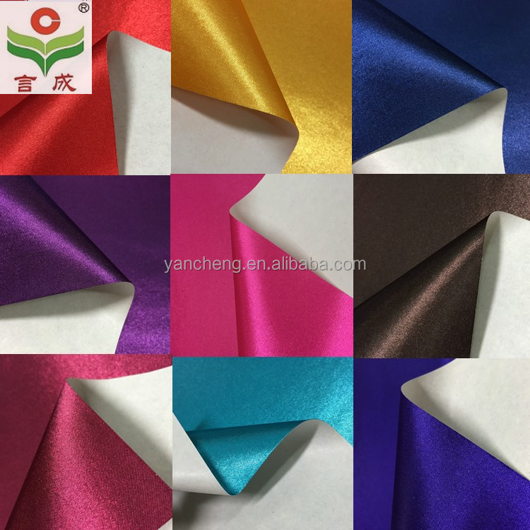 satin backed paper/satin laminated paper/paper based satin