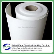 High temperature white fireproof ceramic wool paper