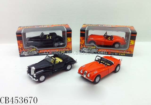 1:34 die cast classic antique metal model car toys