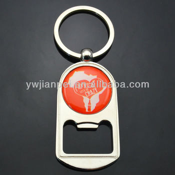 Bottle Opener Keychain With Brand logo
