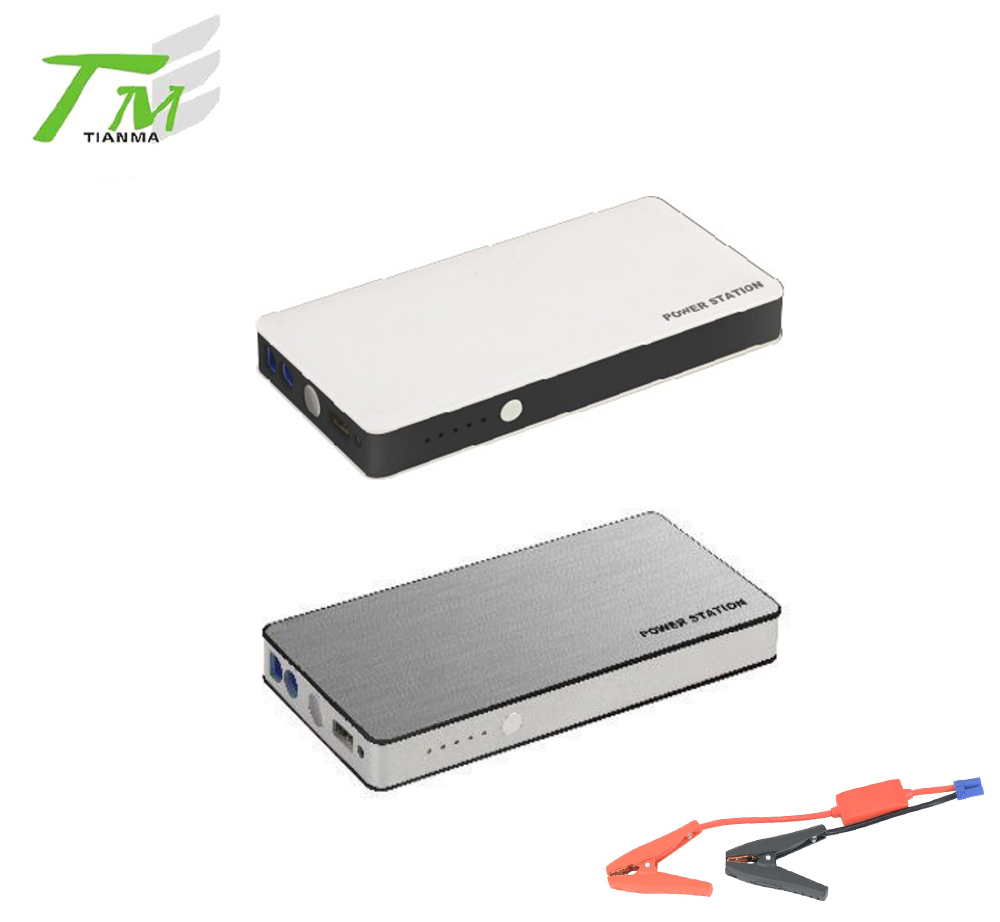 Mini lithium battery vehicle power bank and jump starter