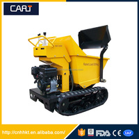 500kg Mini Track Dumper with 6.5HP Power