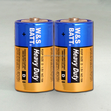 1.5V R20P MERCURY FREE CARBON ZINC BATTERY (HEAVY DUTY BATTERY)