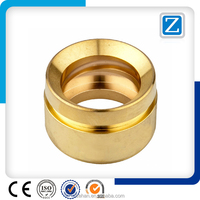 OEM CNC Machinig Parts With Gold anodized