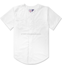 Custom white latest style Baseball sublimation printed /Baseball Jersey/ High Quality Team wear