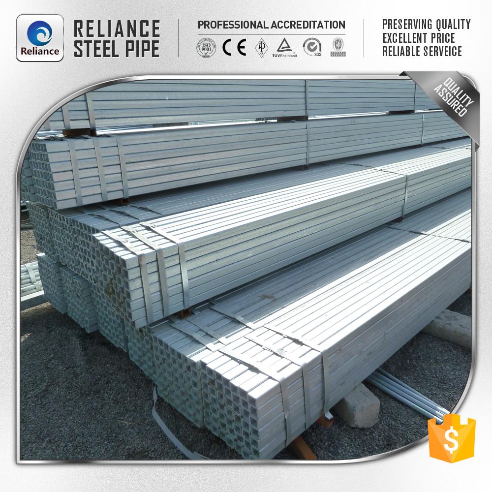 Muebles de acero galvanizado tubo cuadrado MSTuberías de acero