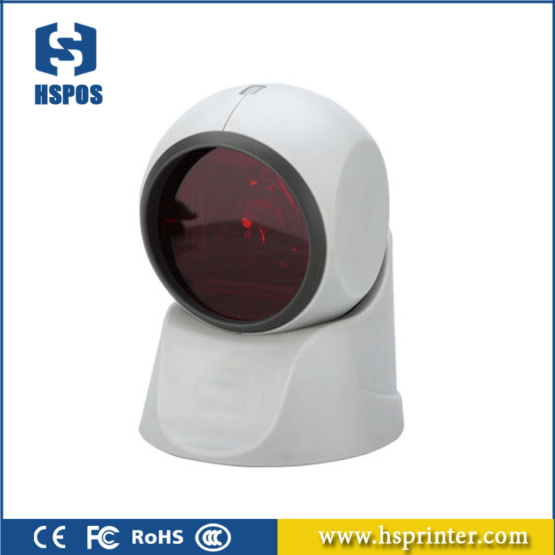 1D omnidirectional laser scanner high speed function of barcode reader for retail business HS-7130