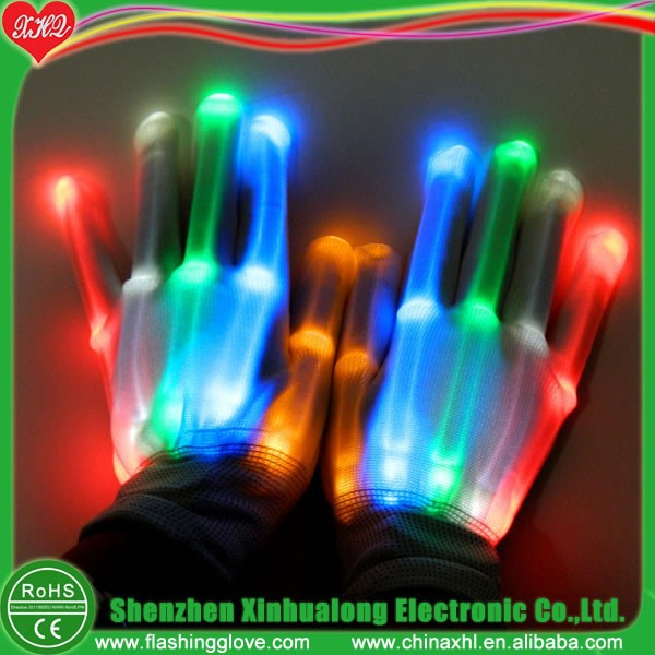 Fire Gloves Magic with LED Light