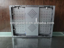 Aluminium Profile Cabinet, HD SMD RGB P6 Indoor Full Color Led Display Screen