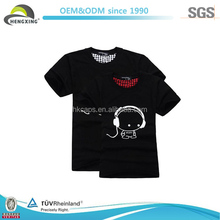 China Wholesale Combed High Quality Love Couple Custom Made T-shirt