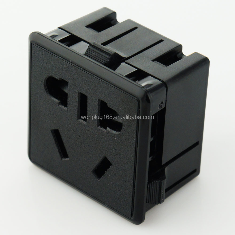 Factory price hot selling US AU CN type electrical outlet from wonplug