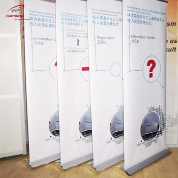 Customized Advertising Printing Display Roll Up Banner X-banner Stand