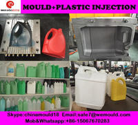 automatic 5L plastic bottle blow moulding