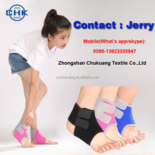 Children outdoors sports prevent sprain ankle support adjustable bandages pad sleeve