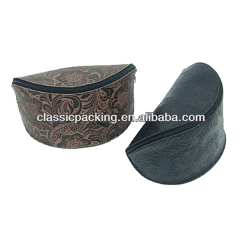 Hot selling pouch eyeglass bag case carbon fiber glass case ,soft eyeglass case