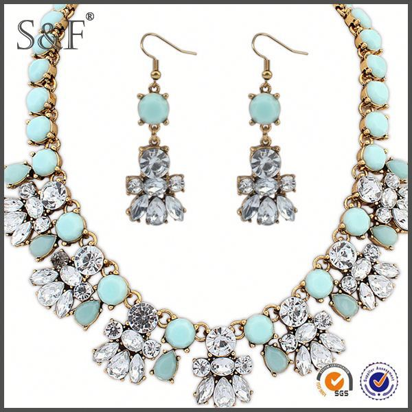 NEW Fashion African Beads rani haar jewelry set jewelry set in latest design