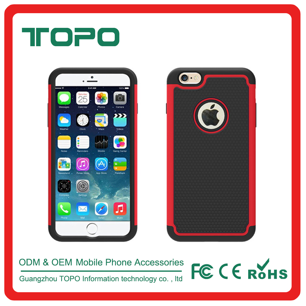 2017 best selling tpu + Silicone + pc 3 in 1 combo new arrival batman Shockproof cell phone case for iPhone 6 6s plus