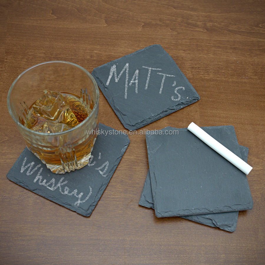 Factory Direct Sales Wholesale Natural Stone Coasters For Drinks