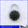 Black Disk Combination Lock Round Padlock