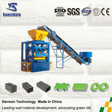 QT4-24 interlocking paving stone making machine, cheap good quality concrete block machine, automatic brick manufacturing plant