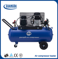 Chinese top supplier hot 100L portable oil air compressor for sale