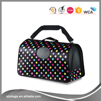Customized professional airline approved pet carriers under seat