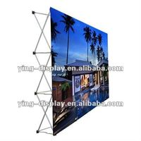 aluminum fabric pop up banner/stand/display