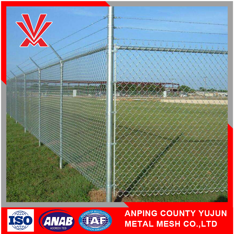 Newest Designed Designer Stylish Stainless Steel Galvanized Chain Link Fence