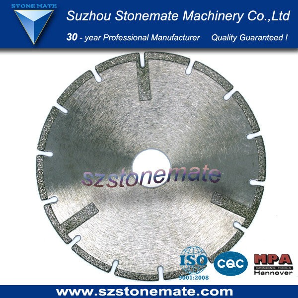 chinese top quality marble electroplated saw blade on sale