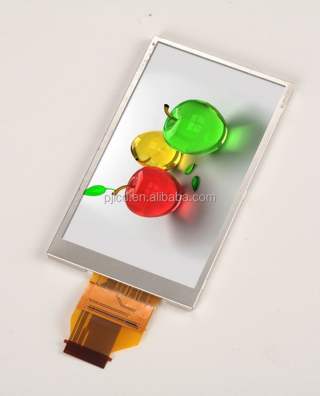 3.0 inch 240(RGB)* 400 Pixels 24bit 8/16 Bit MCU TFT liquid crystal display with backlight ( PJT300C01H34-200P40R )