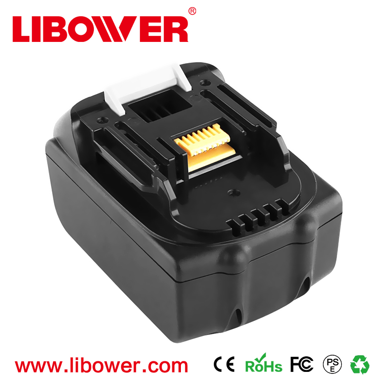 LIBOWER Power tool battery 18V 3000mAh rechargeable battery pack for BL1830 with customized case