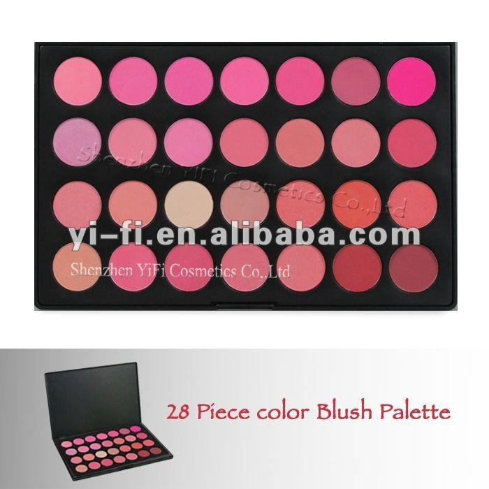 28B color blush palette 6 contour blush palette--super large