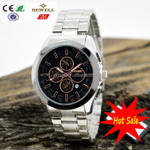 100% Manufacturer provides mechanical / quartz stainless steel watch