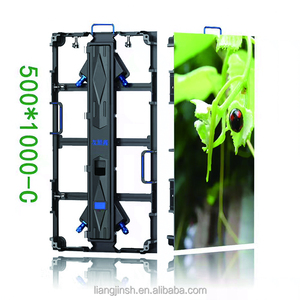 high quality outdoor p4.81 rental cabinet led display back stage screen