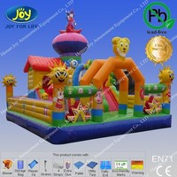 Inflatable big castle jumping playground Animal Zone Bouncer