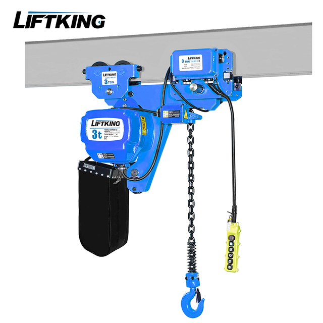 380V 3Ph 3ton electric motor lifting hoist with Eaton/Schneider contactor and Japan Chain