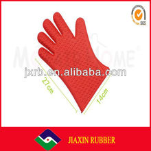 Promotion function silicone swimming glove with fingers