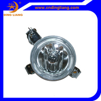 For VW Golf 1 FOG LAMP SMALL HEAD LIGHT CRYSTAL LED WHITE