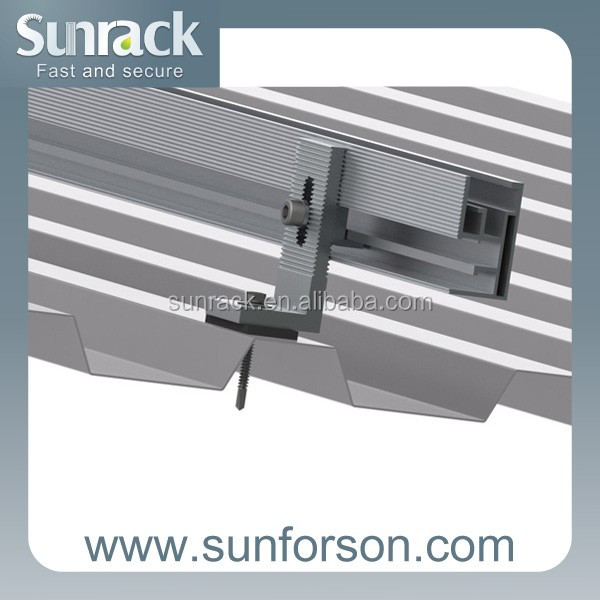solar mounting component rail aluminium for panel