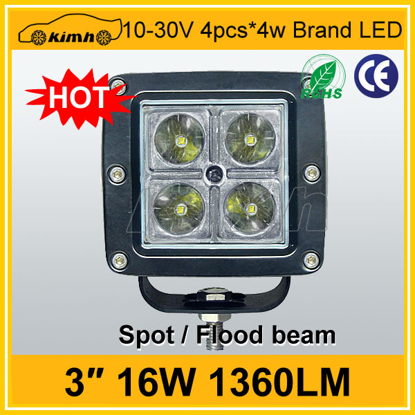 Hotsale automobile 16W motorcycle led driving lights