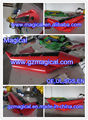 Red Inflatable Banana Boat Single Layer Inflatable Kayak