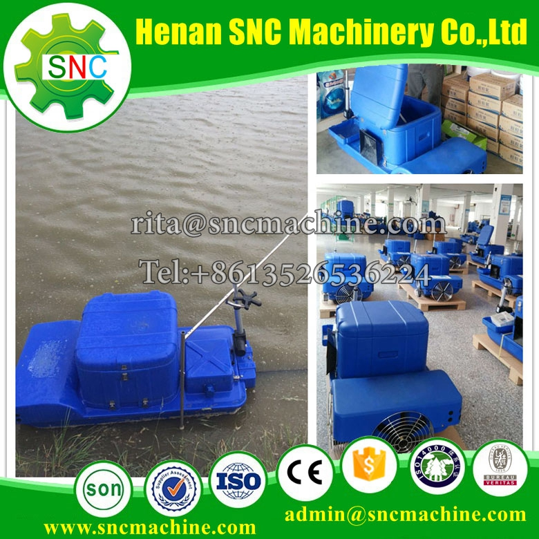 smart automatic fish feeder/bait casting machine