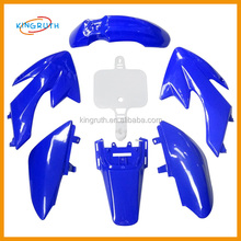 50cc 70cc 110cc Dirt PIT Bike Off-Road 6BLUE+1WHITE CRF50 PLASTIC Fenders kit crf50 plastic body kits