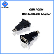 Customized OEM Serial 9pin DB9 Adapter Cable driver usb 2.0 to rs232 for win 7 win 8 win 10