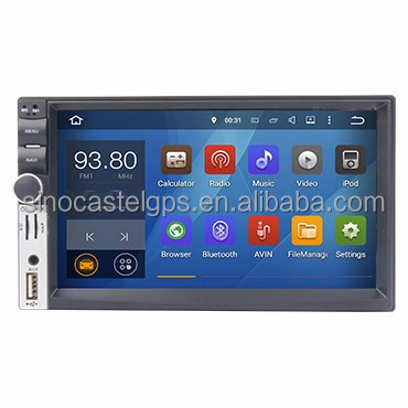 "7""full touch android 5.1 universal 2 din car radio with gps, E-link, wifi,bluetooth"