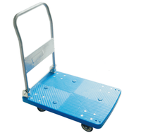 Stainless Steel Platform Trolley Foldable Go