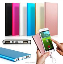 Slim power bank 10000mAh , power bank external power tube for digital products