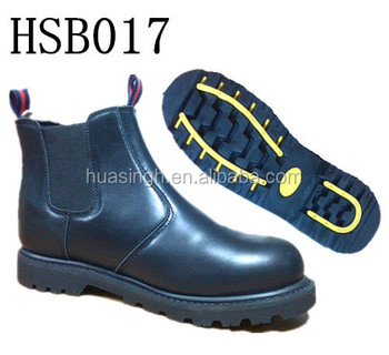 full grain leather Australia hot selling goodyear welt construction safety boots with steel toe