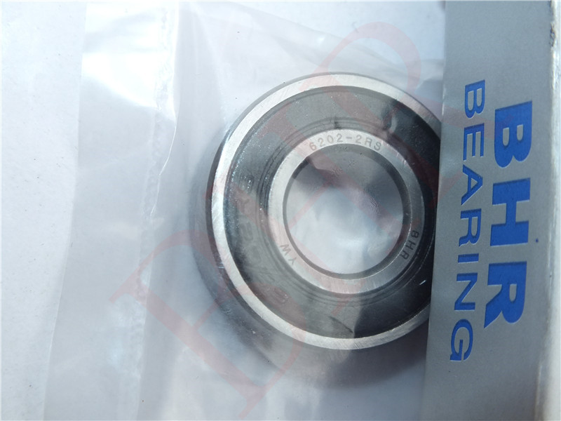 Chrome Steel Ball Bearing 6202 2RS Deep groove ball bearing