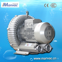 7.5kw centrifugal exhaust fan blower the vacuum pump ring air blower for dry bottle